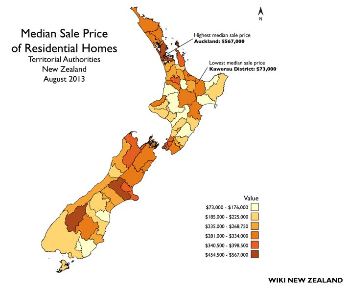 Buying a property in New Zealand